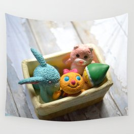 Toys - Basket Wall Tapestry