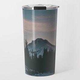 Frozen Mirror Lake Travel Mug