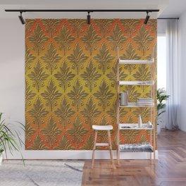 AMOROSO DAMASK - Beautiful Design - GOLD RUSH Wall Mural