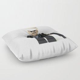Old school cop Minifig Floor Pillow