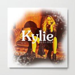 Kylie Minogue - Golden Metal Print