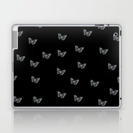 Silver Butterflies Laptop & iPad Skin