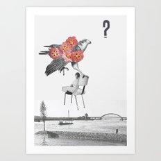L'aigle Art Print