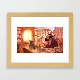 The Chemist Framed Art Print