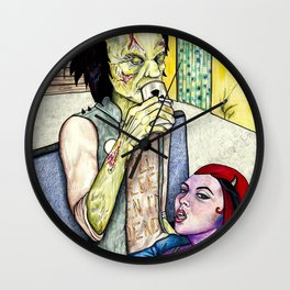 I'll Sleep When I'm Dead Wall Clock