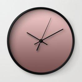 Grey and pink Wall Clock