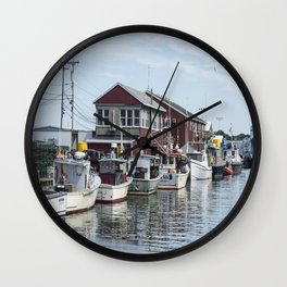 Coastal Maine View Wall Clock