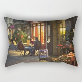 Evening in Provence Village Rectangular Pillow