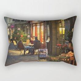Evening in Provence Village Rectangular Pillow