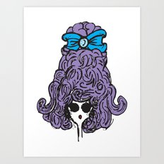 Bow Peep Art Print