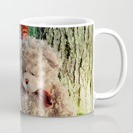 autumn reflections with teddy bear Coffee Mug