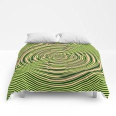 Warped Rings Comforters