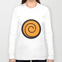 naruto Long Sleeve T-shirts featuring Naruto Suit by bivisual