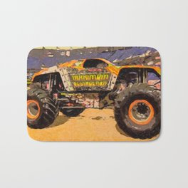 Monster Jam Party in the Pits Bath Mat
