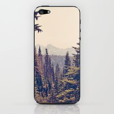 Mountains through the Trees iPhone & iPod Skin