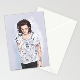 Harry 1D tattoos T-shirt Stationery Cards