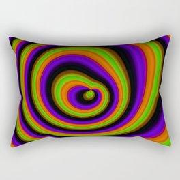 deep circles 3 Rectangular Pillow