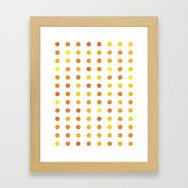 Dalmatian - Sunshine #906 Framed Art Print