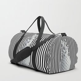 Black and White Anana | #society6 | Pineapple Duffle Bag