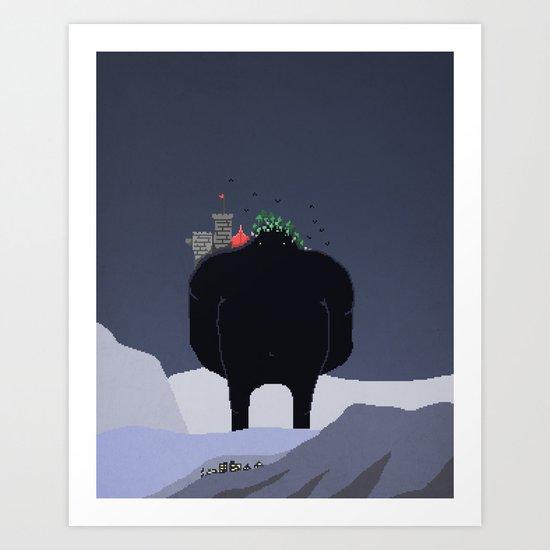 Mountain Giant Art Print