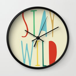 Message from mom Wall Clock