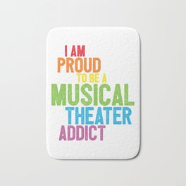 Musical Theater Pride Bath Mat
