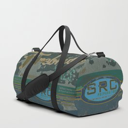 SRC Preparations Firebridge Tires Vintage Poster No1 Duffle Bag