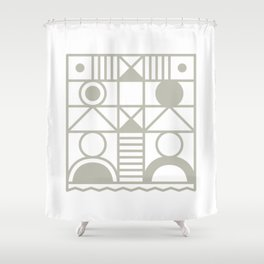 Super Sense No. 14 Shower Curtain