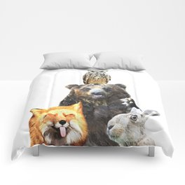 Woodland Animal Friends Comforters
