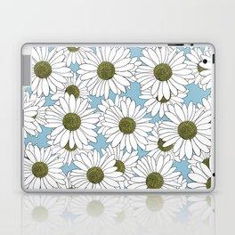 Daisy Blue Laptop & iPad Skin