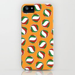 Volleyball Pattern - Haikyuu iPhone Case