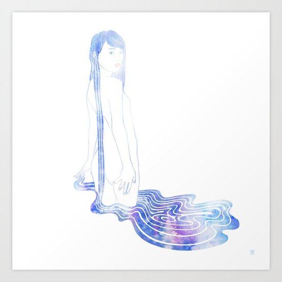 Water Nymph LXXIII Art Print