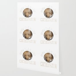 Pluto The Planet Never Forget Distressed Wallpaper