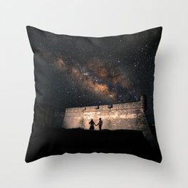 Star Gazers in Saint Augustine Throw Pillow