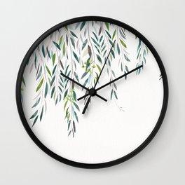 Eucalyptus - Gully gum Wall Clock
