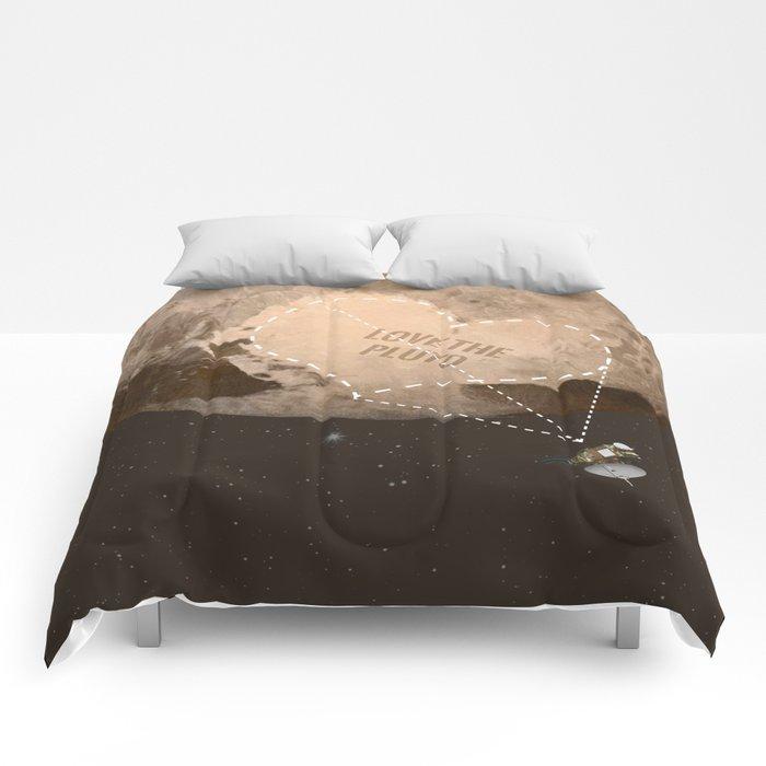 Love the Pluto Comforters