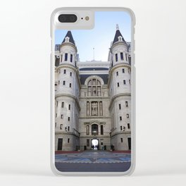 Philly Hall Clear iPhone Case