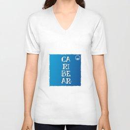 """Caribear"" Unisex V-Neck"