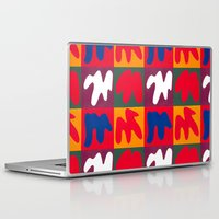 matisse Laptop & iPad Skins featuring M for Matisse by CHOCOLORS
