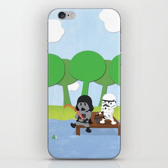 SW Kids - Darth Fishing iPhone & iPod Skin