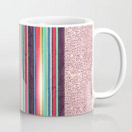 Stripes and pattern in primaries Coffee Mug