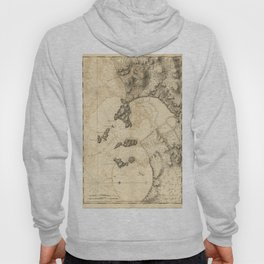The Atlantic Neptune: Charts for the Use of the Royal Navy (1780) - Bay of Seven Islands, Canada Hoody