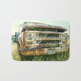 Vintage Chevy Truck Bath Mat