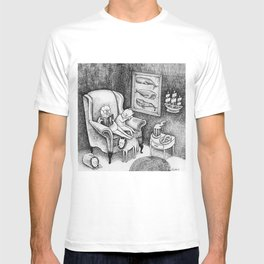 Whale Reader T-shirt