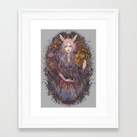 scales Framed Art Prints featuring scales by Miru