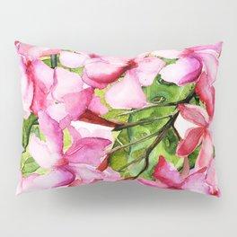 Aloha-my tropical pink oleander flower garden Pillow Sham