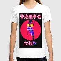 hong kong T-shirts featuring Hong Kong Skater by LittleCarmine