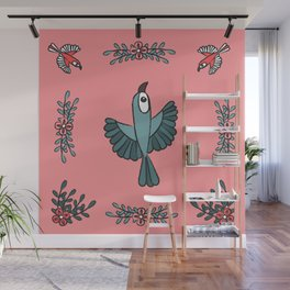 National Bird Day Wall Mural