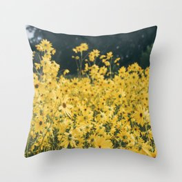 Daisies For Days Throw Pillow