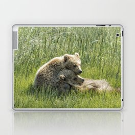 I Got Your Back - Bear Cubs, No. 4 Laptop & iPad Skin